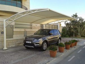 car park shades uae