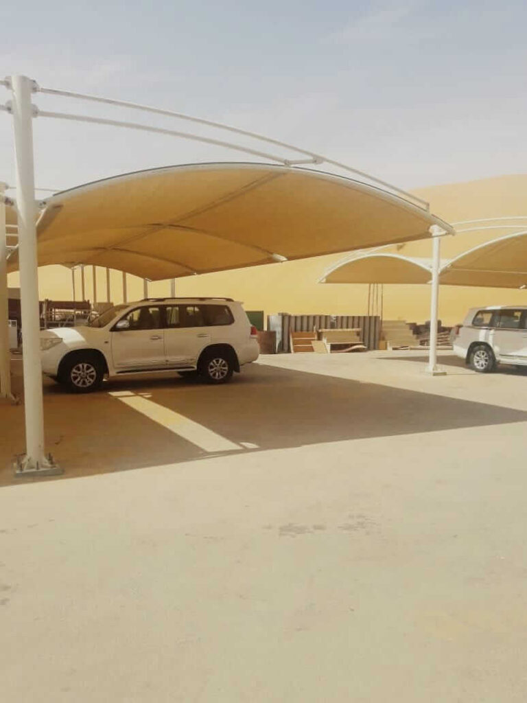car parking shade design dubai