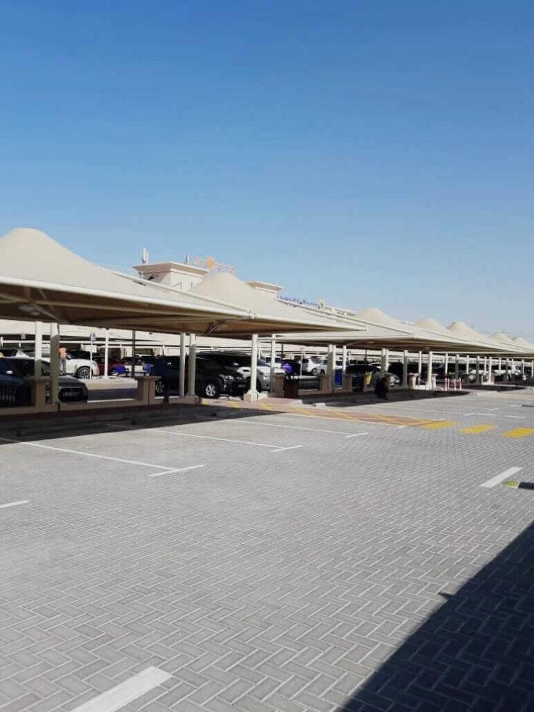 car parking shade structures dubai