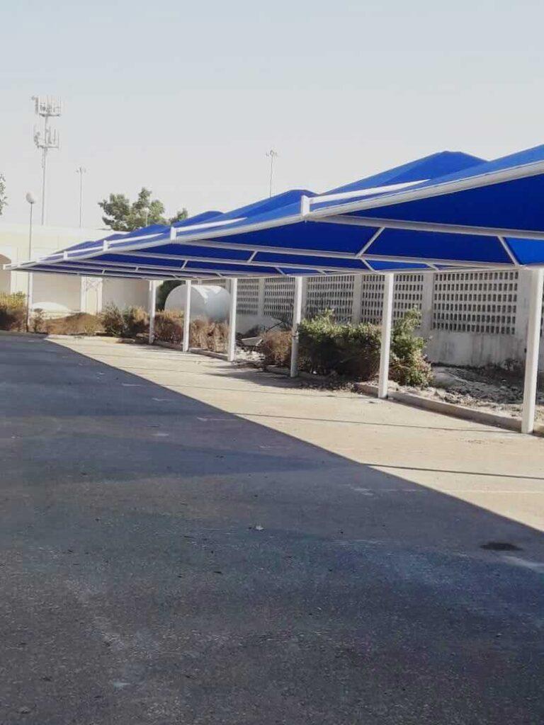 car parking shades design company abu dhabi