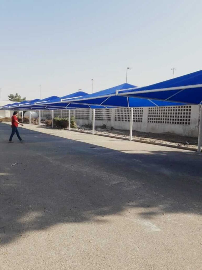 car parking shades design manufacturer dubai