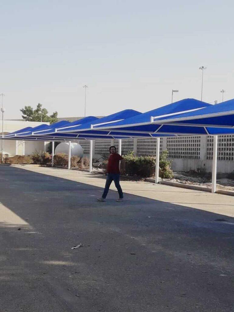 car parking shades design supplier dubai