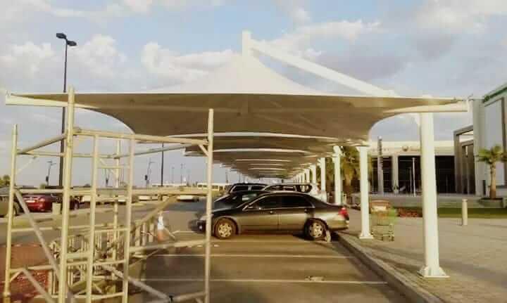 car parking shades design suppliers in abu dhabi