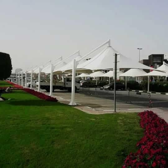 car parking shades suppliers in abu dhabi