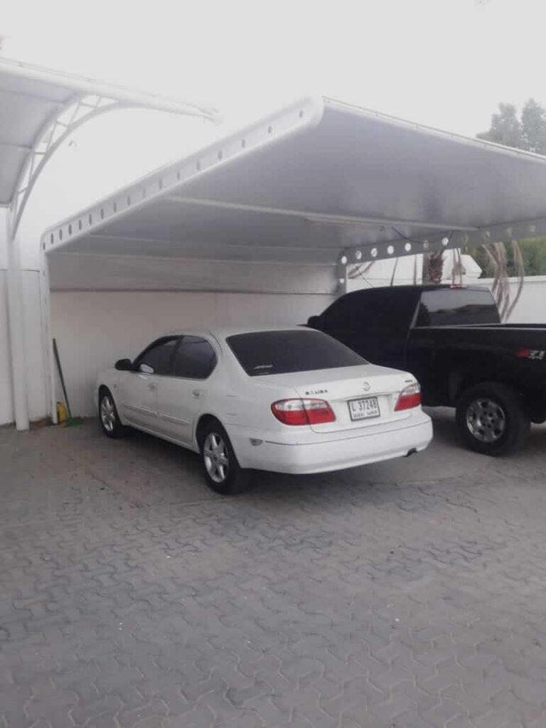 car parking shades suppliers in dubai